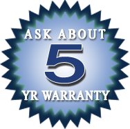 5 Year Appliance Repair Warranty